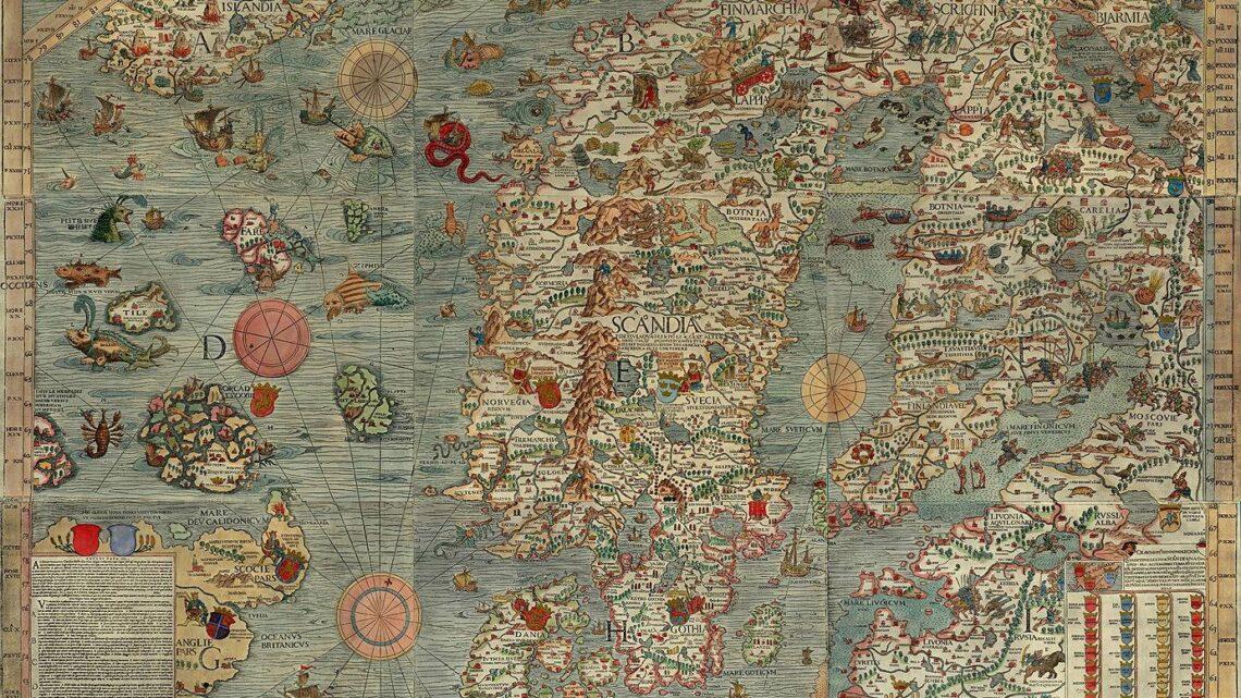 Carta Marina i karczmy na Bałtyku